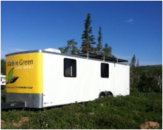 Green production trailer rentals