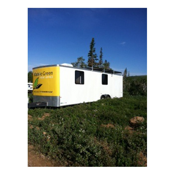 Production trailers rentals with wifi, air conditioning (AC) and storage